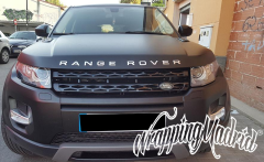 Cambio de color RANGE ROVER EVOQUE