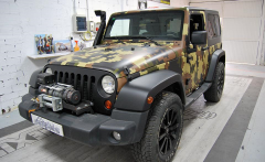 Cambio de color JEEP WRANGLER