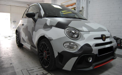 Cambio de color ABARTH 595